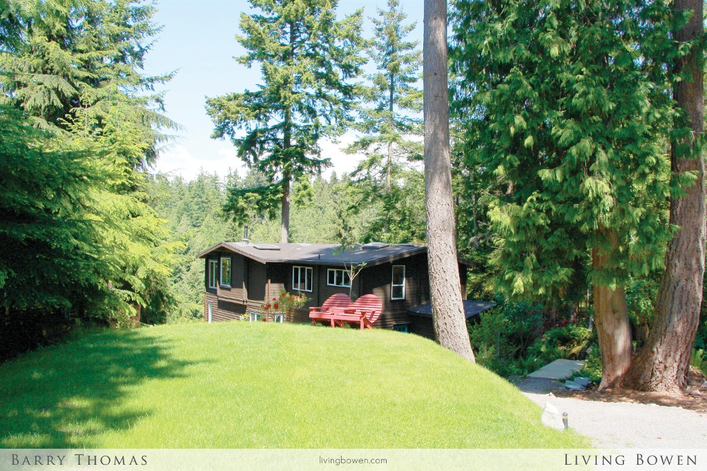 Main Photo: 1608 Whitesails Drive in Bowen Island: Tunstall Bay House for sale : MLS(r) # V1069788