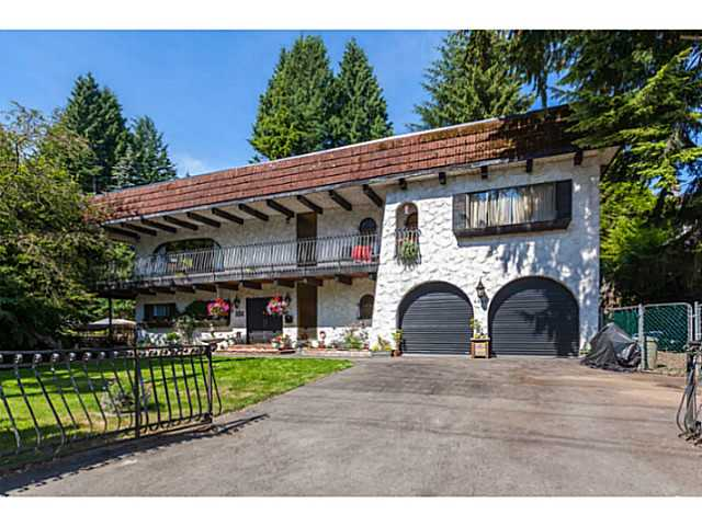 Main Photo: 4025 Marine Drive in West Vancouver: Sandy Cove House for sale : MLS®# V1128651