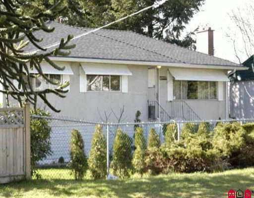 Main Photo: 10239 SEMIAHMOO RD in Surrey: Cedar Hills House for sale (North Surrey)  : MLS® # F2605956