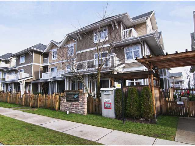 "Main Photo: 18 7388 MACPHERSON Avenue in Burnaby: Metrotown Townhouse for sale in ""Acadia Garden"" (Burnaby South)  : MLS® # V944663"