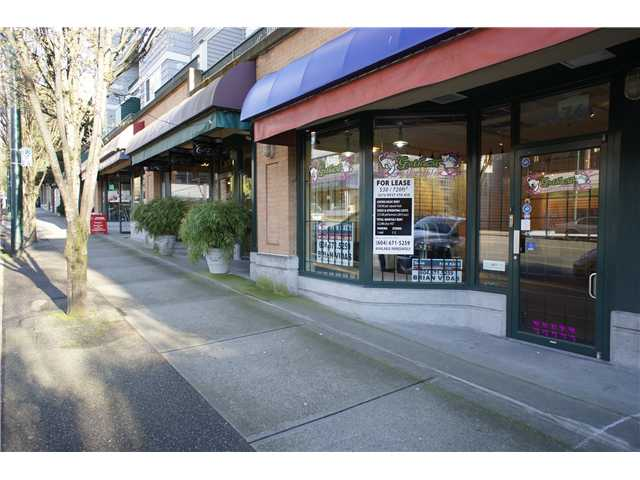 Main Photo: 2676 W 4TH Avenue in VANCOUVER: Kitsilano Commercial for sale (Vancouver West)  : MLS(r) # V4034835