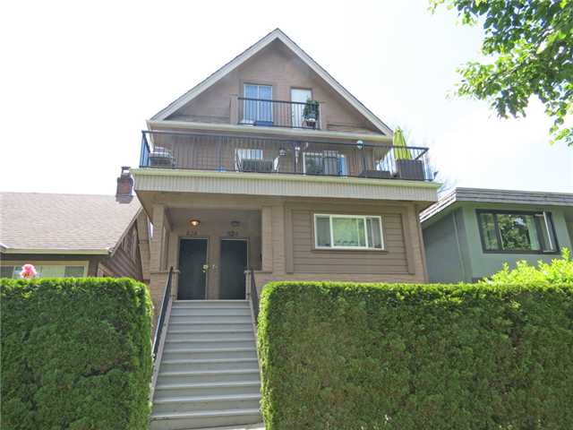 Main Photo: 824 - 828 E 11TH AV in Vancouver: Mount Pleasant VE House Duplex for sale (Vancouver East)  : MLS® # V1013637