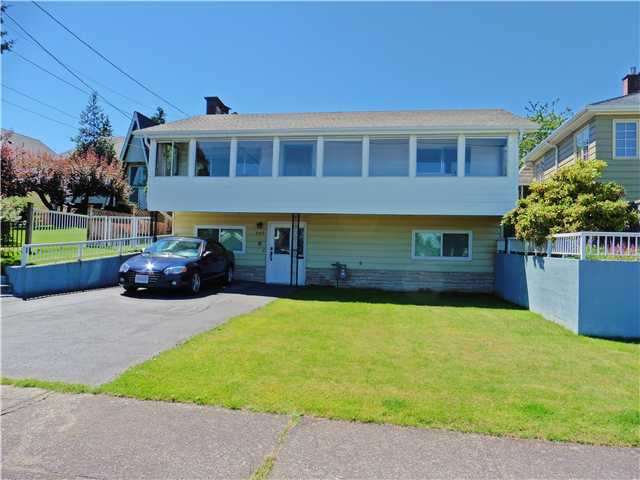 Main Photo: 507 AMESS Street in New Westminster: The Heights NW House for sale : MLS®# V1074508