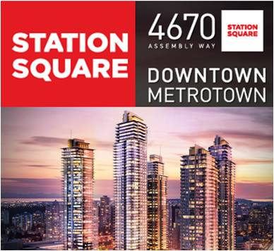 Main Photo: #706 6098 Station Street  (STATION SQUARE II) in : Metrotown Condo  (Burnaby South)