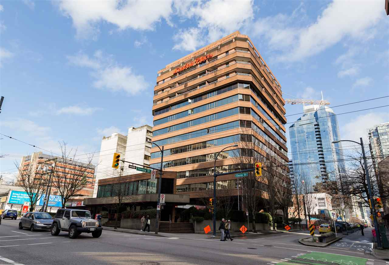 Main Photo: 208 1177 HORNBY STREET in Vancouver: Downtown VW Condo for sale (Vancouver West)  : MLS® # R2135901