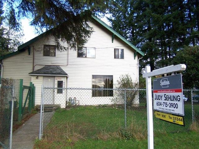 Main Photo: 32941 1ST Avenue in Mission: Mission BC House for sale : MLS® # F1300048