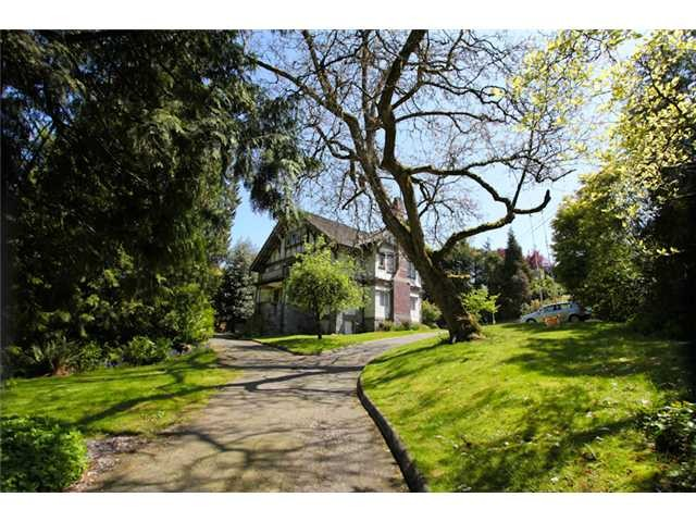 Main Photo: 1550 MARPOLE Avenue in Vancouver: Shaughnessy House for sale (Vancouver West)  : MLS(r) # V980166