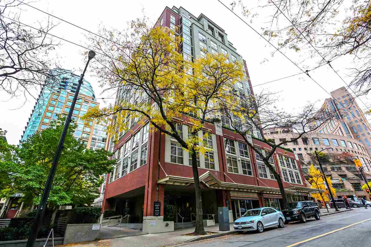 Main Photo: 808 819 HAMILTON STREET in Vancouver: Downtown VW Condo for sale (Vancouver West)  : MLS(r) # R2118682