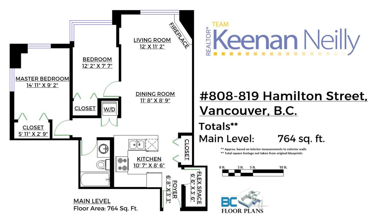 Photo 20: 808 819 HAMILTON STREET in Vancouver: Downtown VW Condo for sale (Vancouver West)  : MLS(r) # R2118682