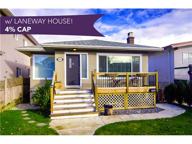 Main Photo: 3079 E 22ND AV in Vancouver: Renfrew Heights House for sale (Vancouver East)  : MLS®# V1106920
