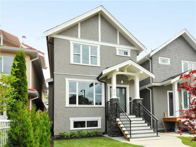 Main Photo: 576 E 30TH Avenue in Vancouver: Fraser VE House for sale (Vancouver East)  : MLS® # V955290