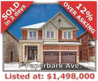 Main Photo: 7 Paperbark Avenue in Vaughan: Patterson Freehold for sale