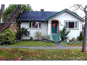 Main Photo: 1632 Ross Street in VICTORIA: Vi Fairfield East Single Family Detached for sale (Victoria)  : MLS® # 160491