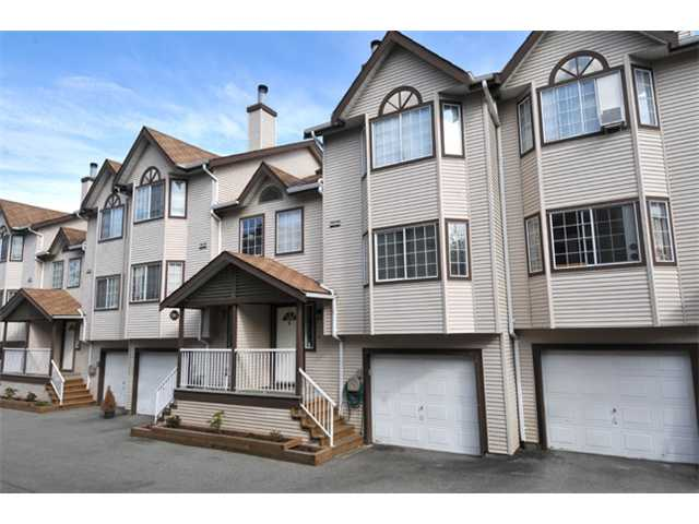 "Main Photo: 19 2352 PITT RIVER Road in Port Coquitlam: Mary Hill Townhouse for sale in ""SHAUGHNESSY ESTATES"" : MLS® # V945682"