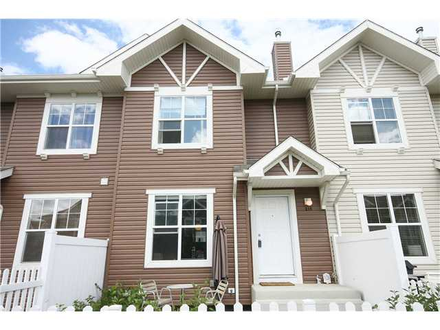 Main Photo: 215 TOSCANA Gardens NW in CALGARY: Tuscany Townhouse for sale (Calgary)  : MLS®# C3576268
