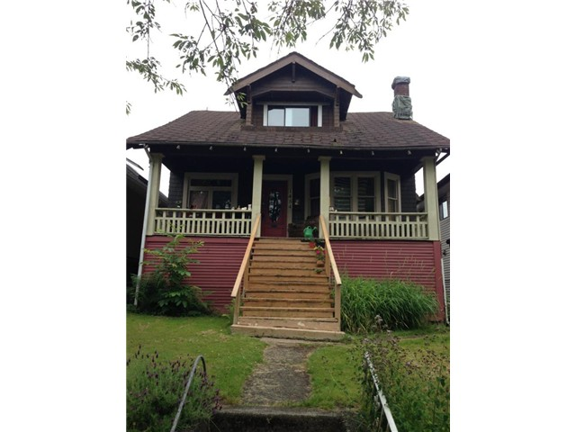 "Main Photo: 1454 E 20TH Avenue in Vancouver: Knight House for sale in ""CEDAR COTTAGE"" (Vancouver East)  : MLS® # V1074325"