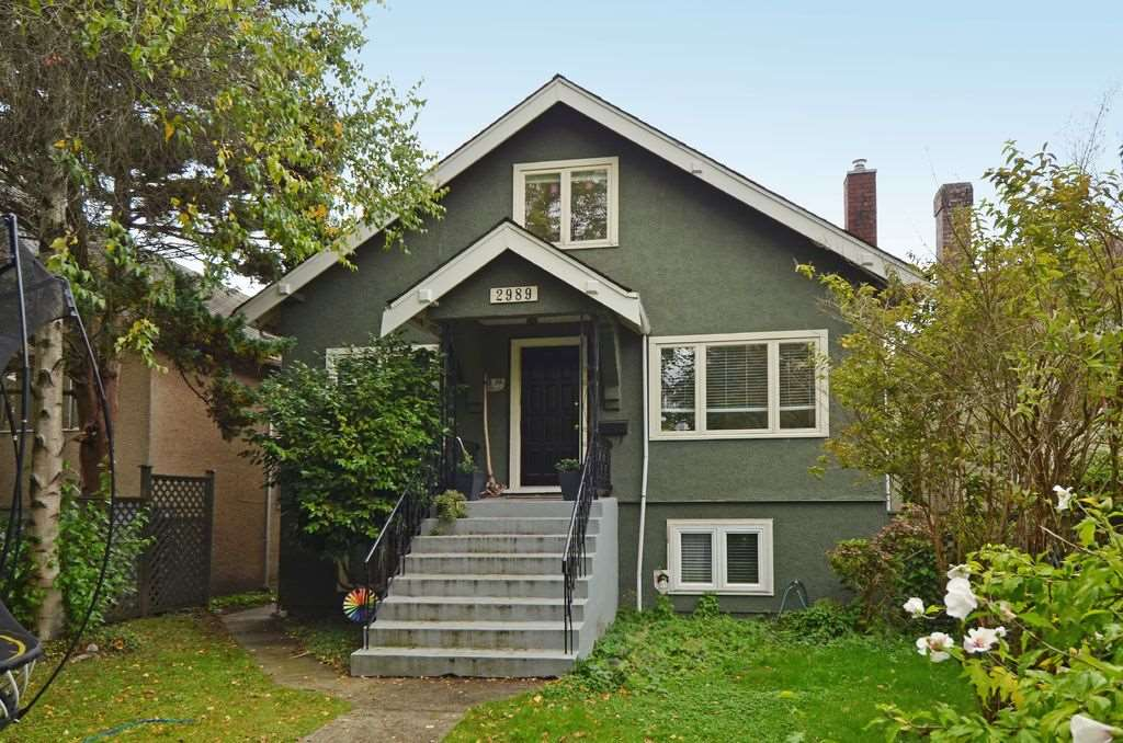 Main Photo: 2989 WATERLOO STREET in Vancouver: Kitsilano House for sale (Vancouver West)  : MLS® # R2000491