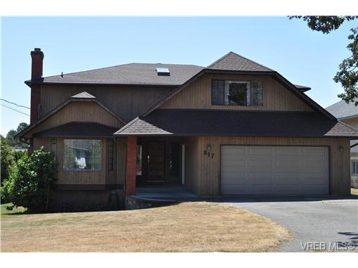 Main Photo: 817 Beckwith Avenue in VICTORIA: SE Lake Hill Single Family Detached for sale (Saanich East)  : MLS® # 326590