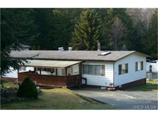 Main Photo: C17 920 Whittaker Road in MALAHAT: ML Malahat Proper Manu Double-Wide for sale (Malahat & Area)  : MLS® # 244212