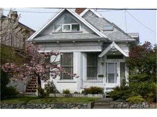 Main Photo: 1326 Johnson Street in VICTORIA: Vi Downtown Single Family Detached for sale (Victoria)  : MLS® # 245346