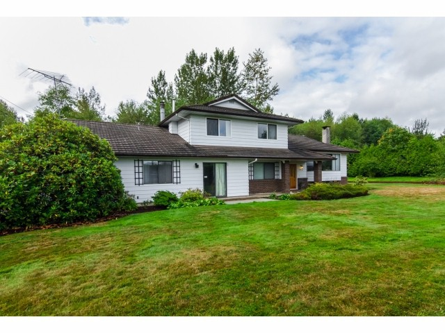 "Main Photo: 22438 TELEGRAPH Trail in Langley: Fort Langley House for sale in ""FORT LANGLEY"" : MLS® # F1421354"