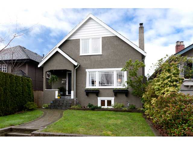 Main Photo: 3830 W 18TH Avenue in Vancouver: Dunbar House for sale (Vancouver West)  : MLS(r) # V934696