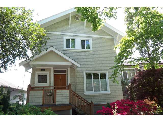 Main Photo: 2070 E 5TH Avenue in Vancouver: Grandview VE House for sale (Vancouver East)  : MLS®# V953272