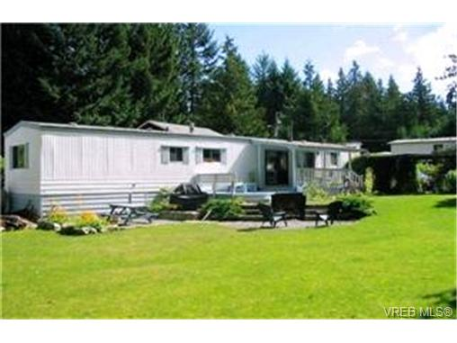 Main Photo: C20 920 Whittaker Road in MALAHAT: ML Malahat Proper Manu Single-Wide for sale (Malahat & Area)  : MLS® # 205703