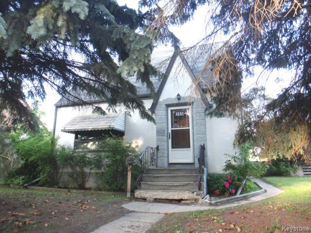 Main Photo: 355 Albany Street in WINNIPEG: St James Residential for sale (West Winnipeg)  : MLS® # 1416342