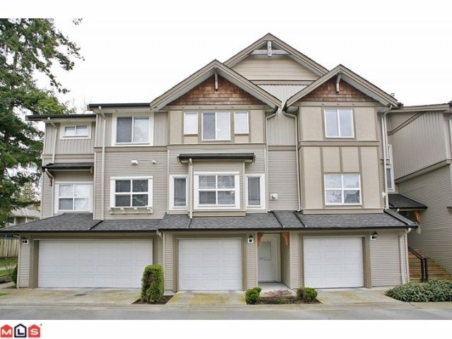 "Main Photo: 51 12677 63RD Avenue in Surrey: Panorama Ridge Townhouse for sale in ""Sunridge"" : MLS® # F1209815"