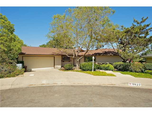 Main Photo: SAN CARLOS House for sale : 3 bedrooms : 6639 Sanders Court in San Diego