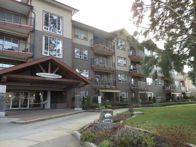 "Main Photo: 102 16068 83RD Avenue in Surrey: Fleetwood Tynehead Condo for sale in ""Fleetwood Gardens"" : MLS® # F1305233"