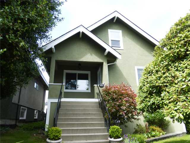 Main Photo: 3475 Adanac St in Vancouver: Renfrew VE House for sale (Vancouver East)  : MLS® # V1066128