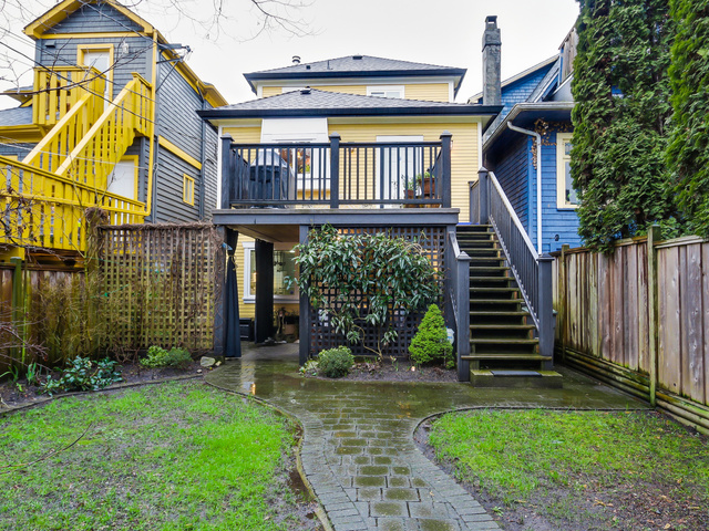 Photo 21: 1608 E 4th AVENUE in Vancouver: Grandview VE House for sale (Vancouver East)  : MLS® # R2032123