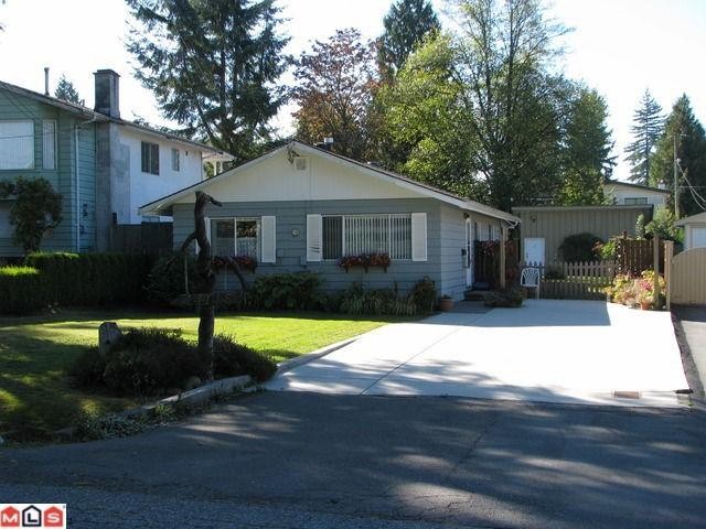 Main Photo: 14148 MELROSE Drive in Surrey: Bolivar Heights House for sale (North Surrey)  : MLS(r) # F1225193