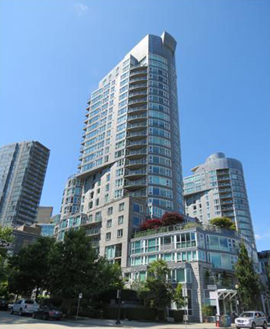 Main Photo: 1903 535 Nicola Street in Vancouver: Coal Harbour Condo for sale (Vancouver West)  : MLS® # V987660