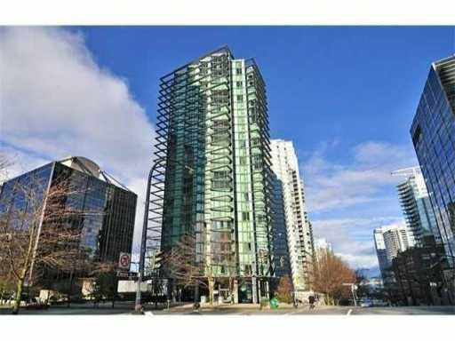 Main Photo: 1008 1331 W Georgia Street in : Coal Harbour Condo for sale (Vancouver West)  : MLS®# V1002494