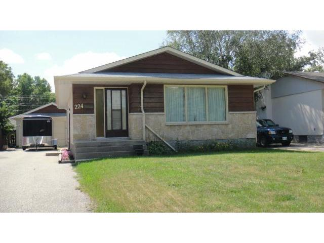 Main Photo: 224 Colcleugh Avenue in SELKIRK: City of Selkirk Residential for sale (Winnipeg area)  : MLS® # 1216322