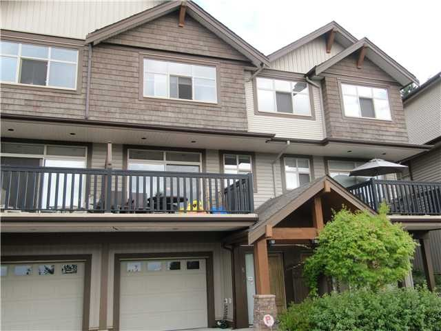 "Main Photo: # 5 320 DECAIRE ST in Coquitlam: Central Coquitlam Townhouse for sale in ""THE OUTLOOK"" : MLS® # V991786"