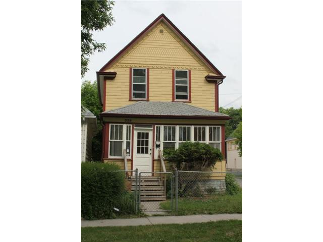 Main Photo: 339 Toronto Street in WINNIPEG: West End / Wolseley Residential for sale (West Winnipeg)  : MLS® # 1313374