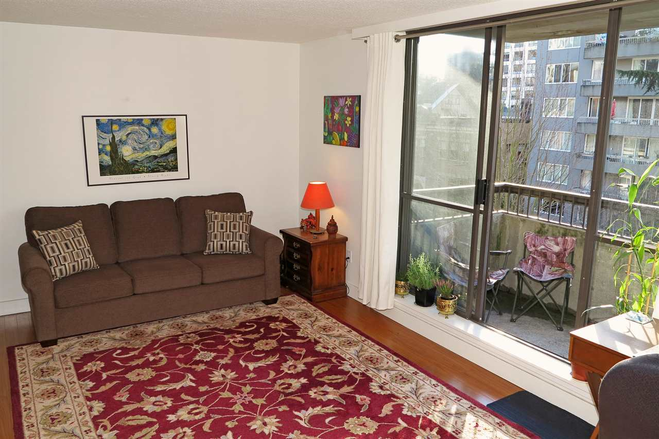 Photo 2: 601 1108 NICOLA STREET in Vancouver: West End VW Condo for sale (Vancouver West)  : MLS® # R2126612