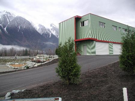 Main Photo: Units 3-6 7327 Industrial Way: Commercial for sale (Pemberton)