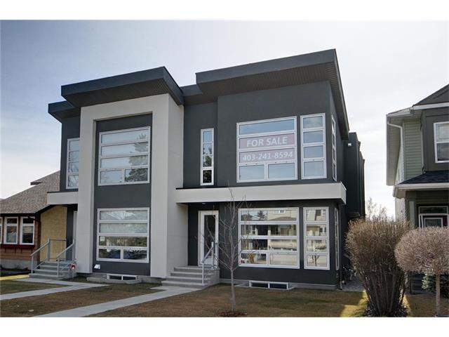 Main Photo: 605A 25 AV NE in Calgary: Winston Heights/Mountview House for sale : MLS® # C4057059
