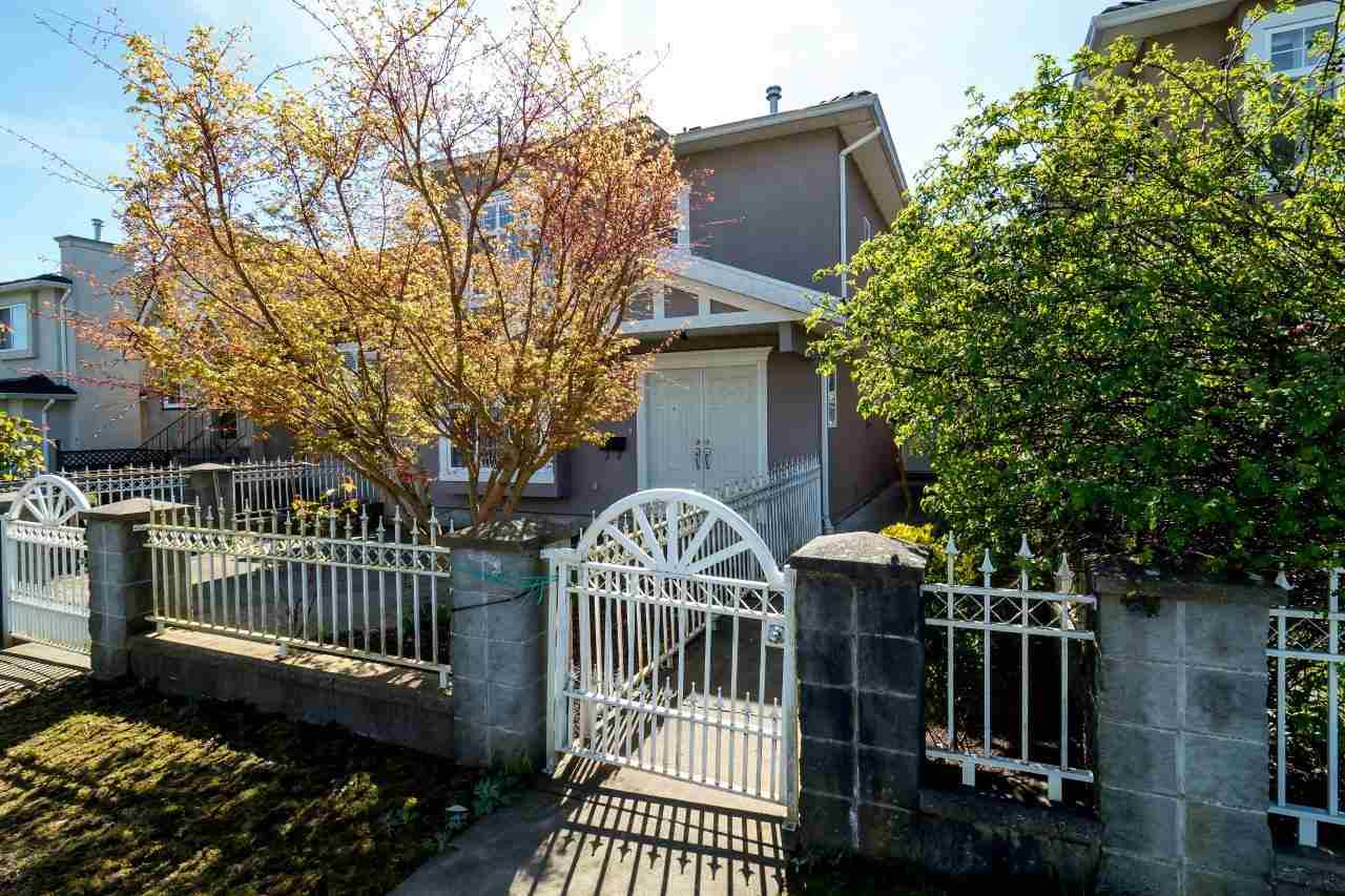 Main Photo: 4130 PANDORA STREET in Burnaby: Vancouver Heights House 1/2 Duplex for sale (Burnaby North)  : MLS® # R2051043