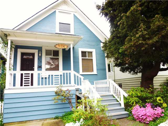 Main Photo: 916 HENLEY ST in : Moody Park House for sale : MLS(r) # V824725