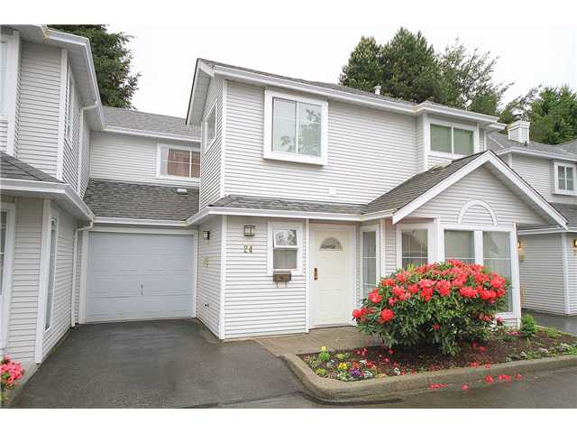 "Main Photo: # 24 18951 FORD RD in Pitt Meadows: Central Meadows Townhouse for sale in ""PINE MEADOWS"" : MLS®# V1007399"
