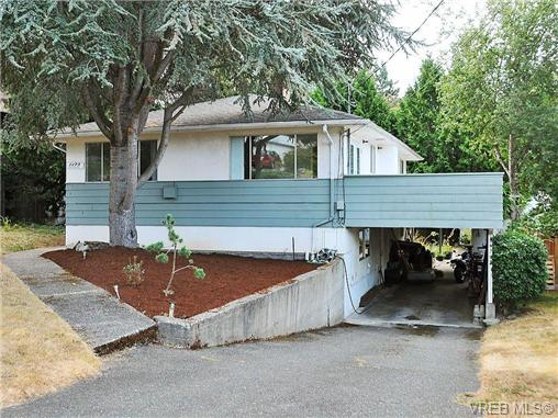 Main Photo: 1275 Queensbury Avenue in VICTORIA: SE Cedar Hill Single Family Detached for sale (Saanich East)  : MLS(r) # 327816