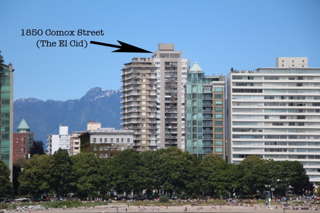 Photo 4: 2103 1850 COMOX STREET in Vancouver: West End VW Condo for sale (Vancouver West)  : MLS® # R2104794