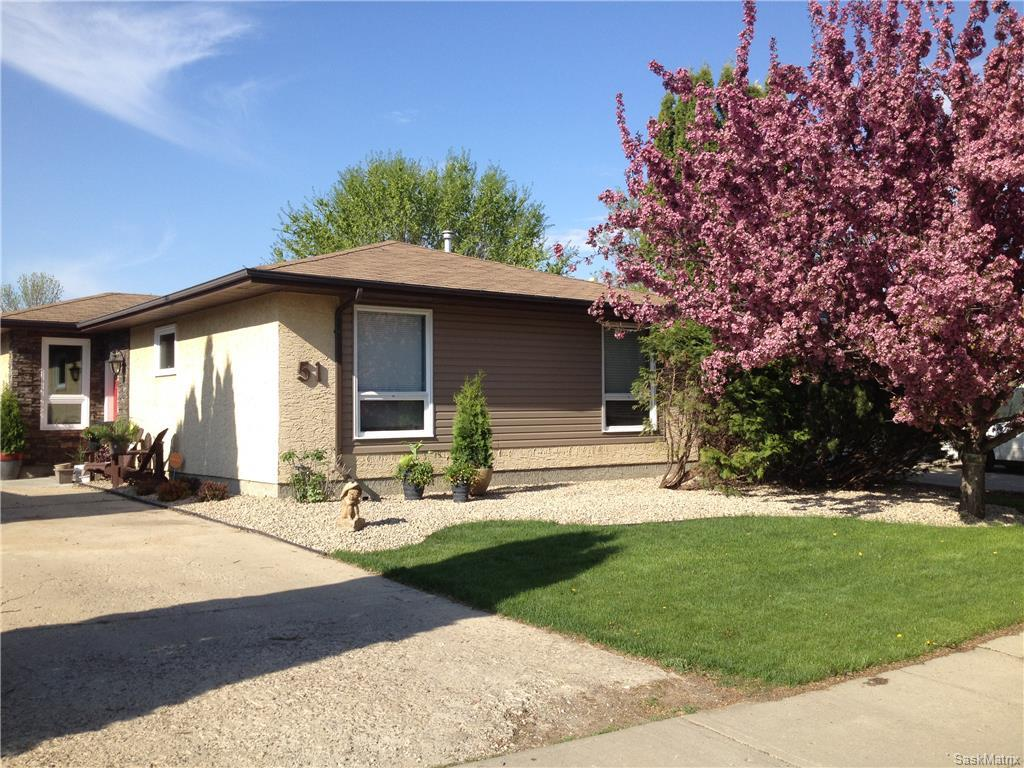 Main Photo: 51 EDENWOLD CRES in Regina: Walsh Acres Single Family Dwelling for sale (Regina Area 01)  : MLS® # 603408