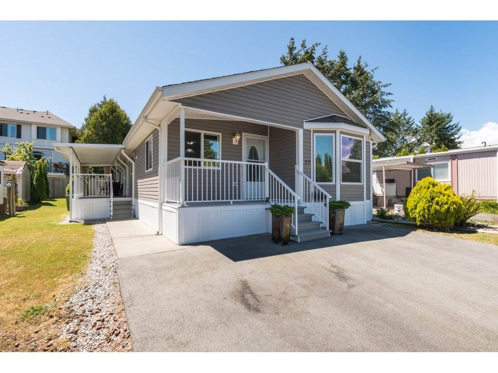 Main Photo: 57 1840 160 STREET in Surrey: King George Corridor Manufactured Home for sale (South Surrey White Rock)  : MLS®# R2283012